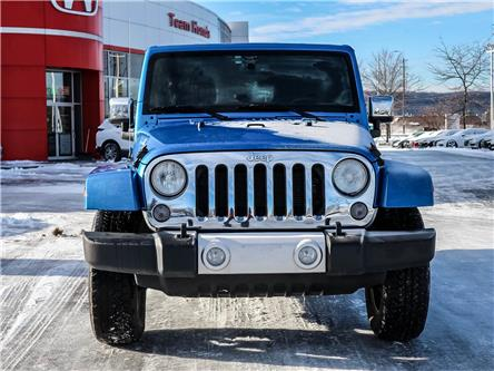 2015 Jeep Wrangler Unlimited Sahara (Stk: 3474A) in Milton - Image 2 of 23