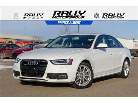 2016 Audi A4 2.0T Progressiv plus (Stk: V1087) in Prince Albert - Image 1 of 11