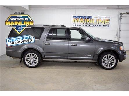 2017 Ford Expedition Max Platinum (Stk: K1205A) in Watrous - Image 1 of 33