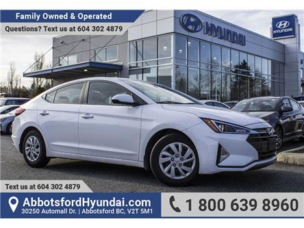 2019 Hyundai Elantra ESSENTIAL (Stk: AH8960A) in Abbotsford - Image 1 of 20