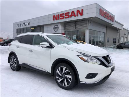 2018 Nissan Murano Platinum (Stk: P2682) in Cambridge - Image 1 of 30