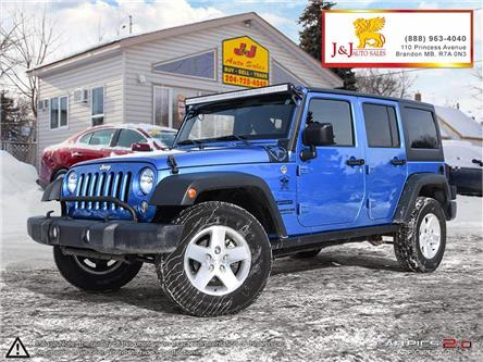 2015 Jeep Wrangler Unlimited Sport (Stk: J19104-1) in Brandon - Image 1 of 27
