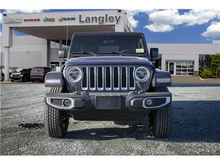 2020 Jeep Wrangler Unlimited Sahara (Stk: L177310) in Surrey - Image 2 of 21
