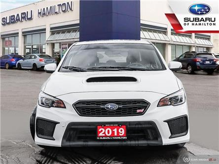 2019 Subaru WRX STI Sport-tech w/Wing (Stk: U1518) in Hamilton - Image 2 of 25