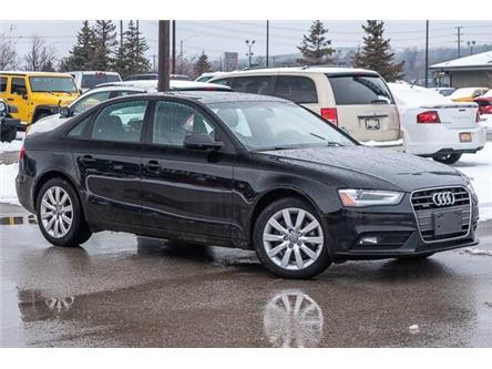 2013 Audi A4 2.0T (Stk: 27158UX) in Barrie - Image 1 of 27