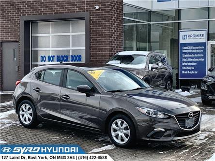 2016 Mazda Mazda3 Sport GX (Stk: H5455) in Toronto - Image 1 of 29