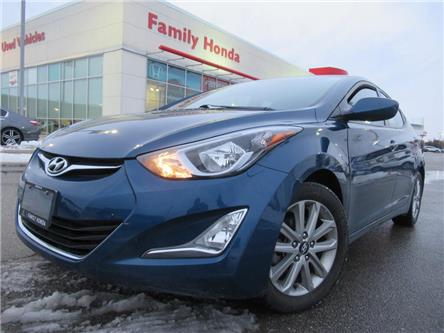 2015 Hyundai Elantra 4dr Sdn Auto Sport Appearance | HEATED SEATS (Stk: 269197T) in Brampton - Image 1 of 16