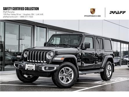 2018 Jeep Wrangler Jl Unlimited Sahara (Stk: P12532A) in Vaughan - Image 1 of 22