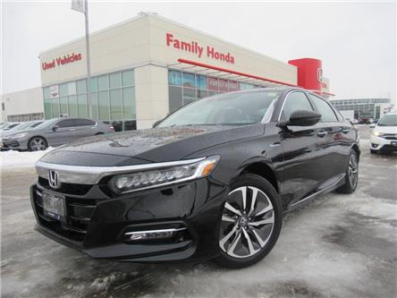2019 Honda Accord Hybrid Touring CVT | NAVI | HEATED STEERING | LOW KMS! (Stk: 800510I) in Brampton - Image 1 of 29