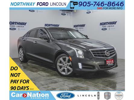 2014 Cadillac ATS Performance PKG | 3.6 V6 | HTD LEATHER | SUNROOF | (Stk: OEX6987A) in Brantford - Image 1 of 37