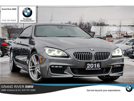 2016 BMW 650i xDrive Gran Coupe (Stk: PW5132) in Kitchener - Image 1 of 22