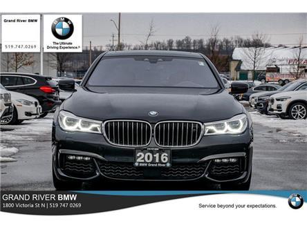 2016 BMW 750 Li xDrive (Stk: PW5140) in Kitchener - Image 2 of 22