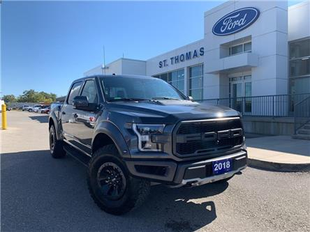 2018 Ford F-150 Raptor (Stk: T9129A) in St. Thomas - Image 1 of 30