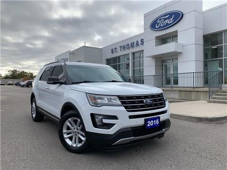 2016 Ford Explorer XLT (Stk: S0007A) in St. Thomas - Image 1 of 28