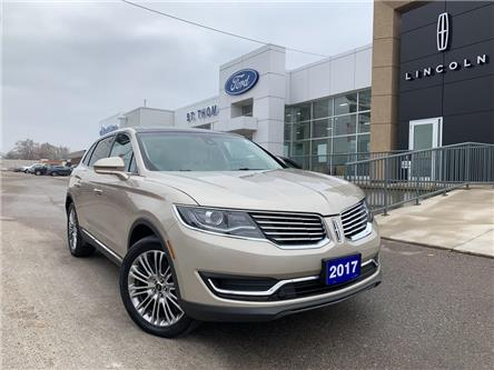 2017 Lincoln MKX Reserve (Stk: S9848A) in St. Thomas - Image 1 of 29