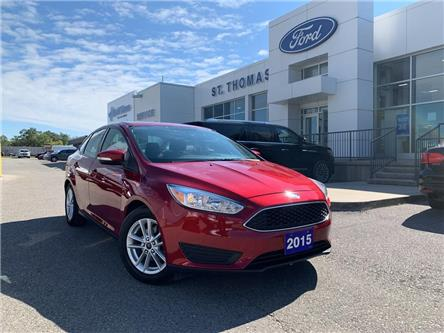 2015 Ford Focus SE (Stk: S9366A) in St. Thomas - Image 1 of 24