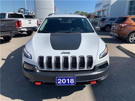 2018 Jeep Cherokee Trailhawk (Stk: T9711A) in St. Thomas - Image 2 of 30