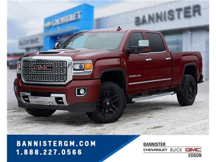 2018 GMC Sierra 3500HD Denali (Stk: 20-033A) in Edson - Image 1 of 19