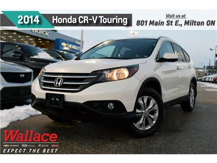 2014 Honda CR-V TOURING/AWD/NAVI/LEATHER/SUNROOF (Stk: 205255A) in Milton - Image 1 of 4