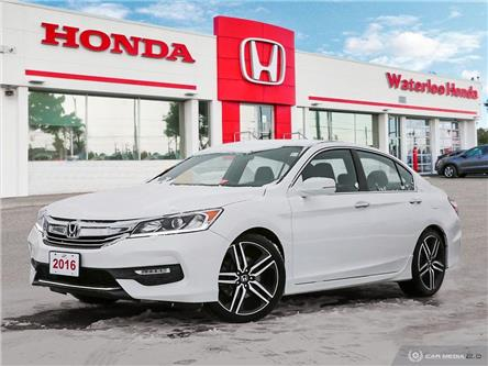 2016 Honda Accord Sport (Stk: U6525) in Waterloo - Image 1 of 27