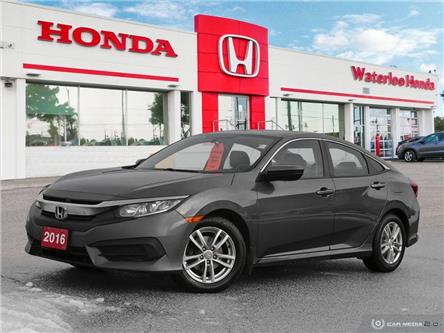 2016 Honda Civic LX (Stk: U6522) in Waterloo - Image 1 of 27
