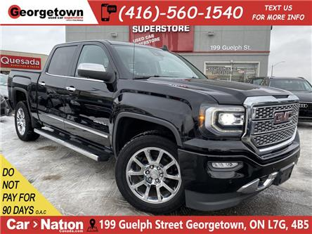 2017 GMC Sierra 1500 DENALI |NAVI|CREW|4X4|ROOF|CAM|BOSE|LEATHER|V8 (Stk: TL20038A) in Georgetown - Image 1 of 32