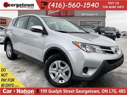 2015 Toyota RAV4 LE   BLUETOOTH   4CYL   LOW KM   ALLOY WHEELS   (Stk: P12840) in Georgetown - Image 1 of 24