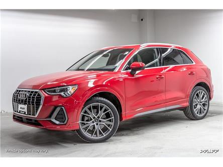 2019 Audi Q3 2.0T Technik (Stk: A12762) in Newmarket - Image 1 of 22