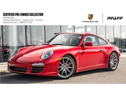 2011 Porsche 911 Carrera 4S Coupe PDK (Stk: U8383) in Vaughan - Image 1 of 21