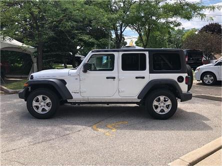 2018 Jeep Wrangler Unlimited Sport (Stk: 184107DT) in Toronto - Image 2 of 19