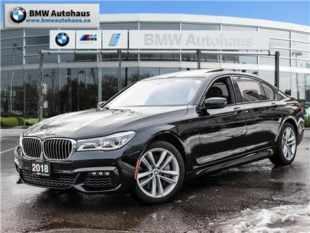 2018 BMW 750  (Stk: P9219) in Thornhill - Image 1 of 34
