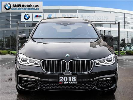 2018 BMW 750  (Stk: P9219) in Thornhill - Image 2 of 34