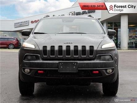 2018 Jeep Cherokee Trailhawk (Stk: 20-8005A) in London - Image 2 of 23