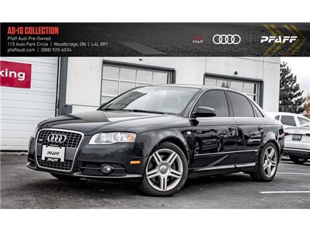 2008 Audi A4 2.0T Special Edition (Stk: C7119A) in Woodbridge - Image 1 of 20