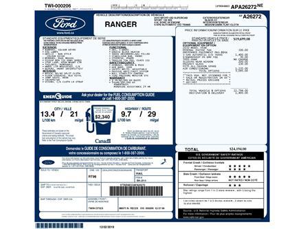 2010 Ford Ranger Sport (Stk: 9F9440AXZ) in Kitchener - Image 2 of 6