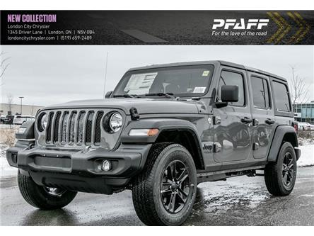 2020 Jeep Wrangler Unlimited Sport (Stk: LC2075) in London - Image 1 of 5