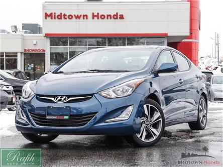2016 Hyundai Elantra Sport Appearance (Stk: P13349) in North York - Image 1 of 28