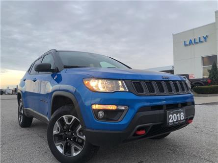 2018 Jeep Compass Trailhawk (Stk: S10446R) in Leamington - Image 1 of 22