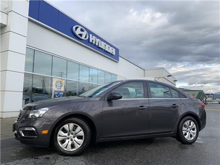 2015 Chevrolet Cruze 1LT (Stk: HA7-3435A) in Chilliwack - Image 1 of 11