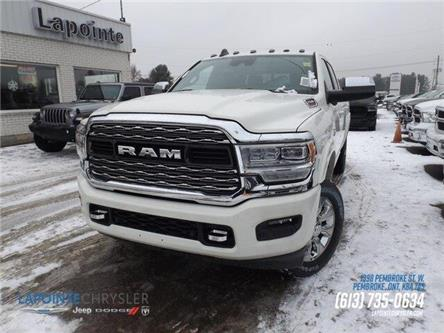 2019 RAM 2500 Limited (Stk: 19469) in Pembroke - Image 1 of 30