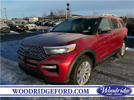 2020 Ford Explorer Limited (Stk: L-102) in Calgary - Image 1 of 6