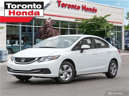 2014 Honda Civic Sedan LX (Stk: 39754A) in Toronto - Image 1 of 27