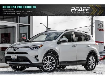 2017 Toyota RAV4 AWD Limited (Stk: H20201A) in Orangeville - Image 1 of 21