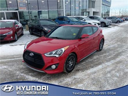 2016 Hyundai Veloster Turbo (Stk: E4725A) in Edmonton - Image 2 of 20