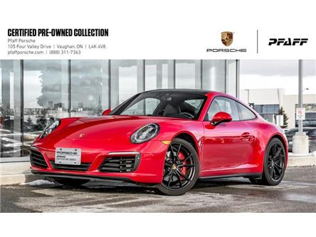 2019 Porsche 911 Carrera 4S Coupe PDK (Stk: U8418) in Vaughan - Image 1 of 21