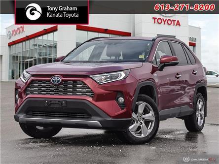 2019 Toyota RAV4 Hybrid Limited (Stk: K4437A) in Ottawa - Image 1 of 28