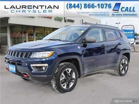 2018 Jeep Compass Trailhawk (Stk: P0059) in Sudbury - Image 1 of 29