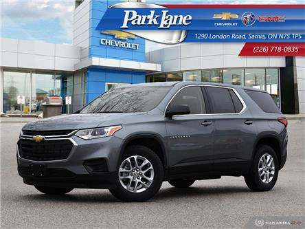2020 Chevrolet Traverse LS (Stk: 01306) in Sarnia - Image 1 of 27
