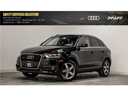 2015 Audi Q3 2.0T Progressiv (Stk: T17447A) in Woodbridge - Image 1 of 22