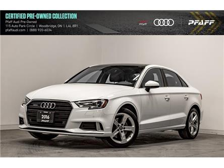 2017 Audi A3 2.0T Komfort (Stk: C7302) in Woodbridge - Image 1 of 22
